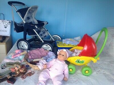 Dolls And Buggys Baby Annabell/Baby Born Job Lot