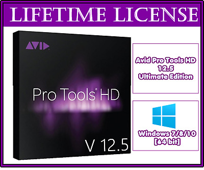 Avid Pro Tools HD 12.5 Ultimate Edition ✅ Version For All Windows 64Bit Lifetime