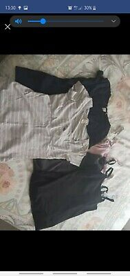 Maternity clothes breast feeding tops bundle Size 8-10
