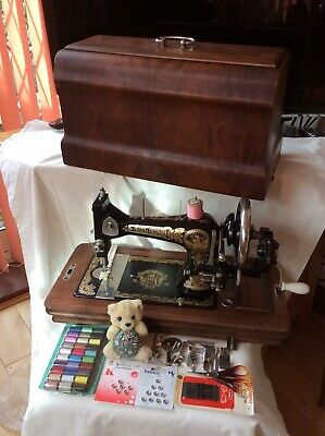 Impressive ex Display Fristor and Rossman Cleopatra Sewing Mach inc Sewing Pack.