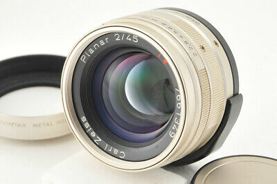 *Excellent+++* Contax Carl Zeiss G Planar 45mm f/2 from Japan #4051