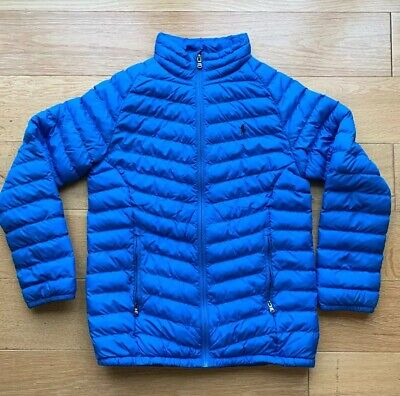 Polo Ralph Lauren Boys L (14 - 16) Quilted Coat Jacket Padded Blue