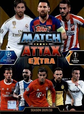 Topps Macht Attax Extra Uefa Champions League 2019 2020 19 20 LIMITED EDITION