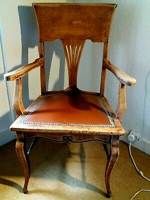 Spectacular  Arts And Crafts  Chair Circa 1910