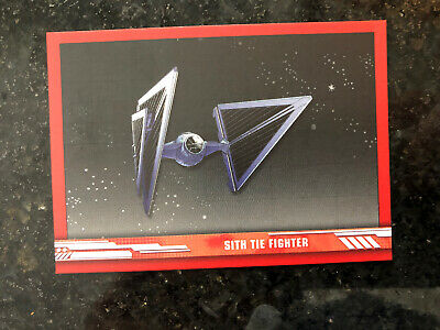 2019 Topps Star Wars Rise Skywalker Sith Fighter /149 SV7 Red Walmart Exclusive