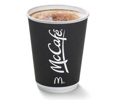 300 X McDonald's Maccies Coffee Bean Stickers Token Ultraviolet McCafé 2020