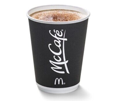 600 X McDonald's Maccies Coffee Bean Stickers Token Ultraviolet McCafé 2020