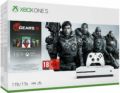 Xbox One S 1TB Gears 5 Bundle * BRAND NEW & SEALED * FAST FREE DELIVERY! *
