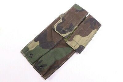 PROTOTYPE Eagle Industries SMP-2 Double Mag Pouch Woodland Belt Mount