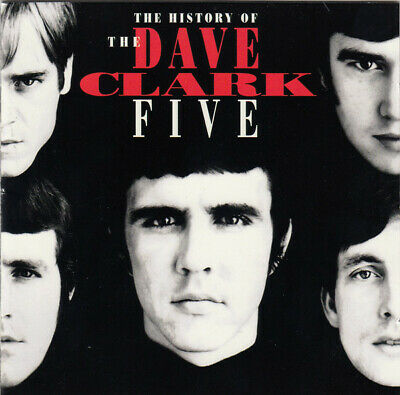 Dave Clark Five - History Of The Dave Clark Five - 32 Pg. Booklet  - 2Cd  - Ovp