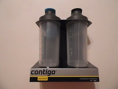 Contico 2 Pack 28Oz Shaker, blender bottle for protein shakes. Shake and go NEW!