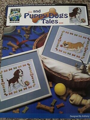 True Colors Crossstitch Leaflet PUPPY DOG TALES