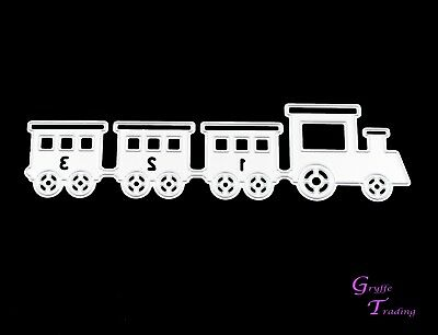Baby Train Metal Cutting Die Baby Toddler Toy Girl Boy Cards Crafts Scrapbooking