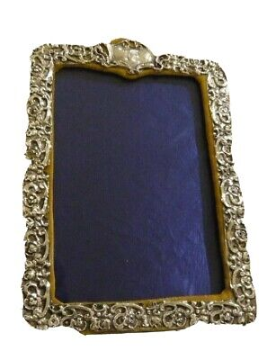 Solid Silver Easelback Photo Frame by Claydon Robin & Co 1904