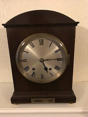 Stunning Mahogany Cased W&h Westminster Chimes Clock On Gongs