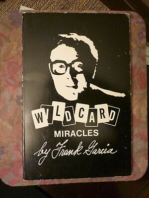 """Lot # 32, Collectable """"Wild Card Miracles"""" by Frank Garcia. Magic Tricks"""