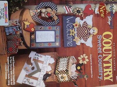 Needlecraft shop plastic canvas country sweet country
