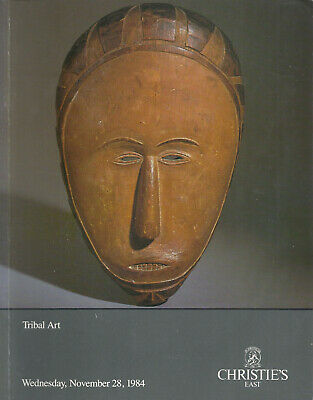 CHRISTIE'S TRIBAL ART OCEANIC AFRICAN AMERICAN INDIAN PRE COLUMBIAN Catalog 1984
