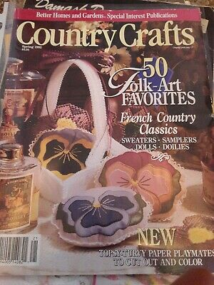 Better homes And Garden Country Crafts Spring 1992