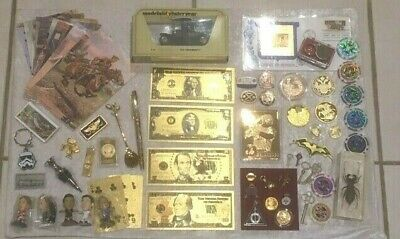Job Lot Collectables House Shed Garage Clearances Collection 15/02/2020 Gold