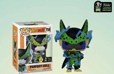 ECCC Exclusive Perfect Cell Glow In The Dark Shared Funko Pop Pre Order