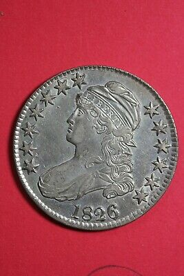High Grade 1826 Capped Bust Half Dollar Exact Coin Shown FREE Shipping OCE 52
