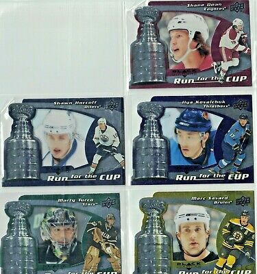 2008-09 Black Diamond -- Run for the Cup #/100 -- You Pick to Finish Your Set