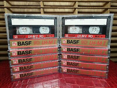 BASF LH-MI 90 (×10) : Made in Germany : NEW & SEALED
