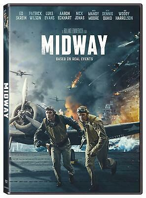MIDWAY: (DVD) NEW > Pre-Order Release 2.18.20 w/Free Shipping