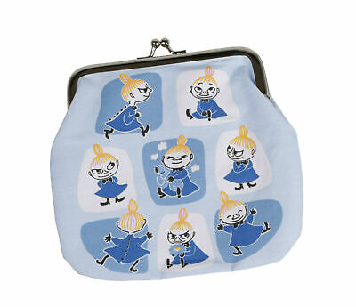 Moomin Purse Medium Little My Patches Blue