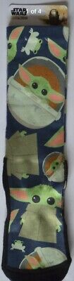 Disney Parks Baby Yoda Socks Star Wars Mandalorian The Child Adult Large XL New