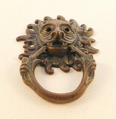 Bronze brass Durham Cathedral sanctuary door knocker modeled from British Castle