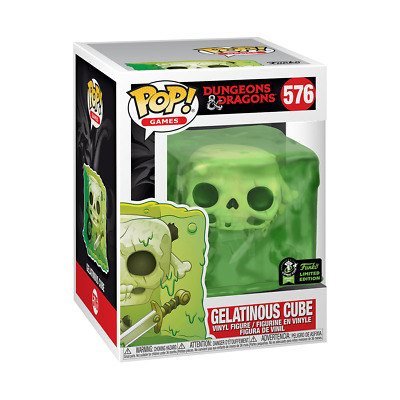 *** Gelatinous Cube - Dungeons & Dragons Funko Pop 2020 ECCC Shared PRESALE ***