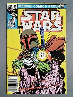 Star Wars #68 Fine Boba Fett Origin 1983 Marvel Comics