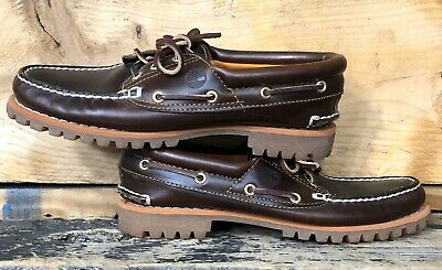 NEW TIMBERLAND WOMEN 3 Eye Boat Shoes Heritage NOREEN