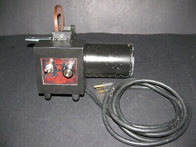 Sherline 90 V DC Motor & Speed Control Unit w/ Belt & Motor Mount, Sherline 4000