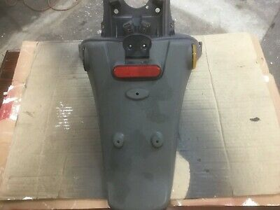 Piaggio fly rear number plate panel
