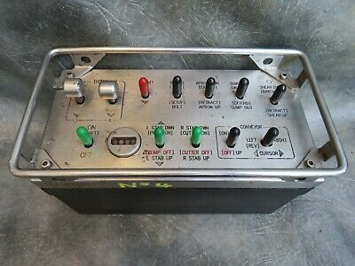 A Good Clean Sandvik Abm25 Mining Machine Controller With Leather Case