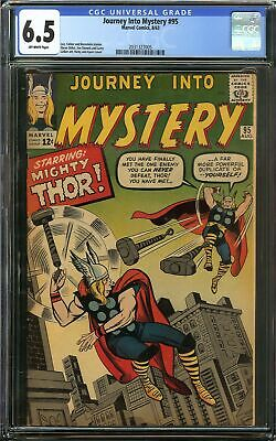 Journey Into Mystery #95 CGC 6.5 THOR vs THOR Jack Kirby Cover Marvel Comics