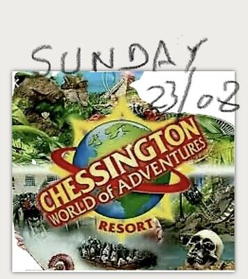 4 x tickets  Saturday 23rd May 2020 - Chessington Tickets Full day entry