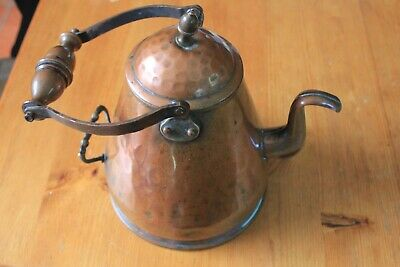 Arts & Crafts Copper Kettle - beautiful - see photos