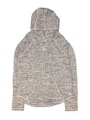 90 Degree by Reflex Girls Gray Pullover Hoodie L Youth