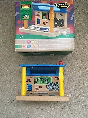 Brio Smart Track Smart Engine Shed With Box
