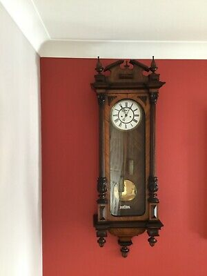 Very Old (Vintage/Possibly Antique) Double Weight,8 Day,Vienna Wall Clock