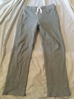 Girls grey tracksuit bottoms - age 10-11 years