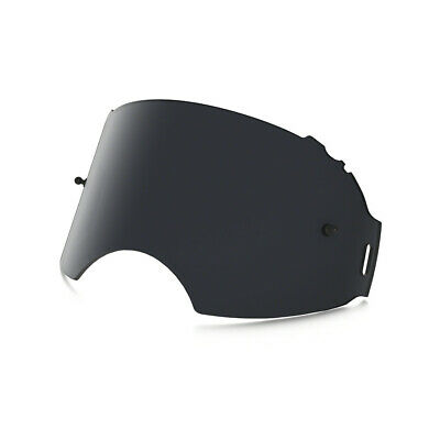 Oakley Replacement Lens Airbrake Motocross (Dark Grey) Fast And Free UK Post