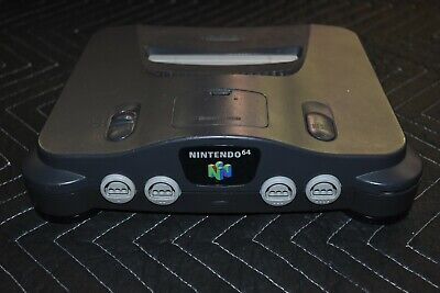 Nintendo 64 with Jumper Pak (CONSOLE ONLY) NO ACCESSORIES - TESTED + WORKING!