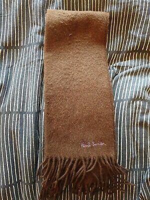Paul Smith Brown Scarf Mens