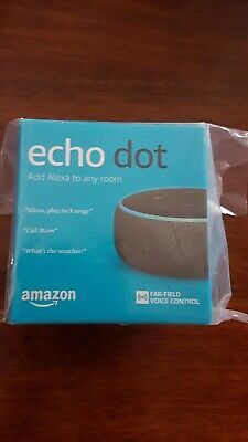 Amazon Echo Dot (3rd Generation) - Smart Speaker with Alexa. Brand New.
