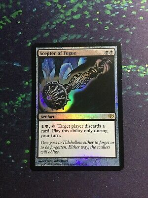Scepter of Insight      EX  PLAYED     Conflux    MTG Magic Cards Blue  Rare